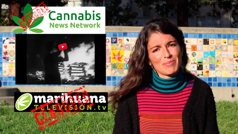 censura al cannabis en youtube