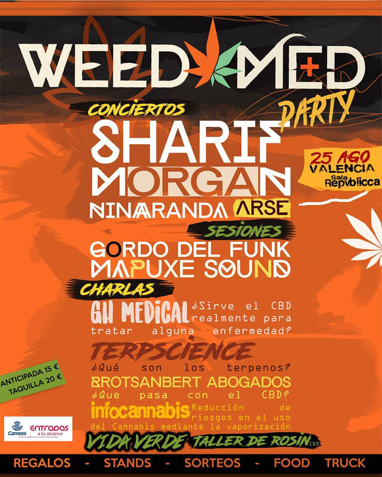 Weedmed Party Valencia