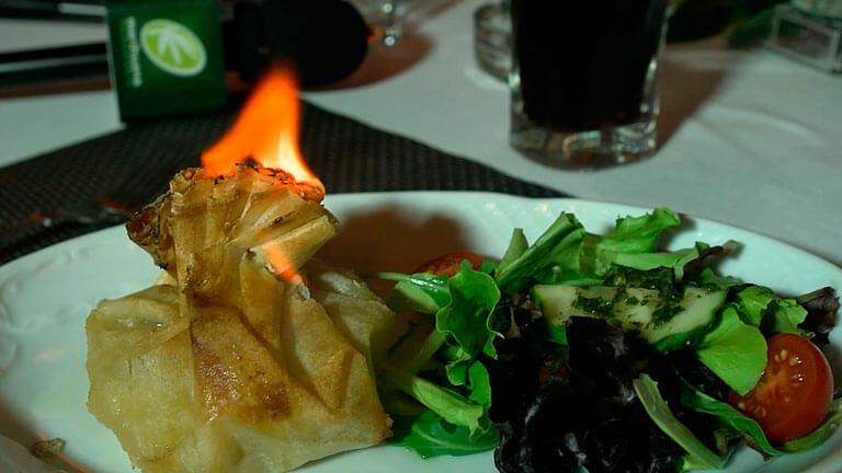 Terpenos y THC en el menú de la cena cannábica