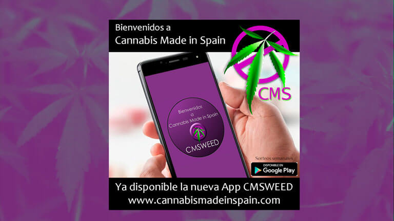 Ya disponible la nueva App CMSWeed en dispositivos android
