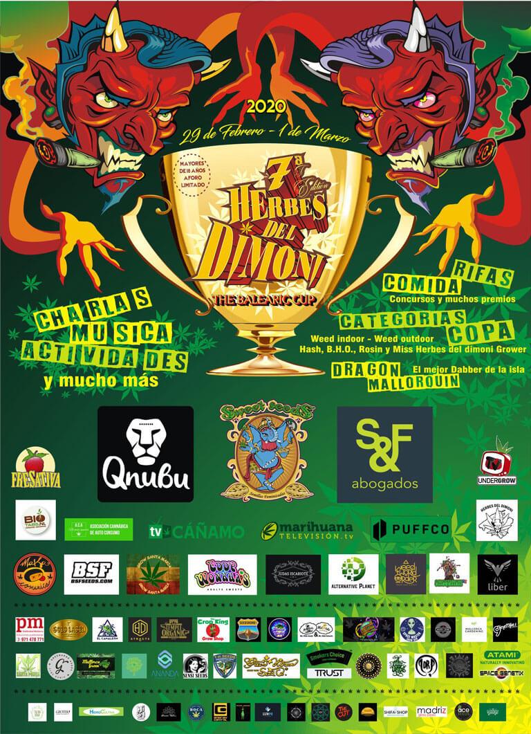 VII Copa Herbes del Dimoni en Mallorca