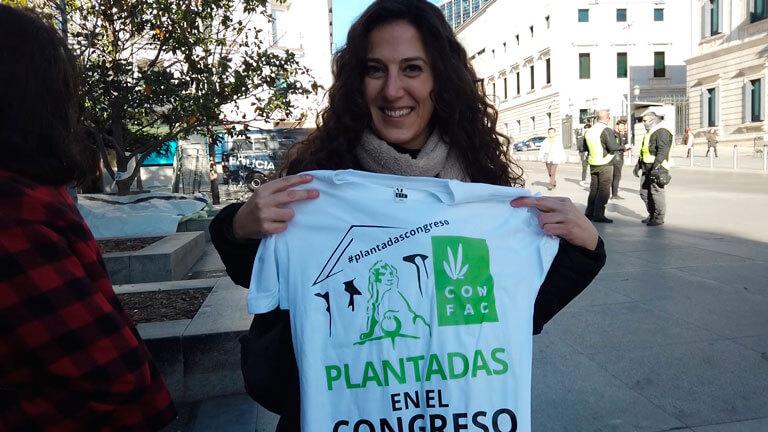 plantadas en el congreso