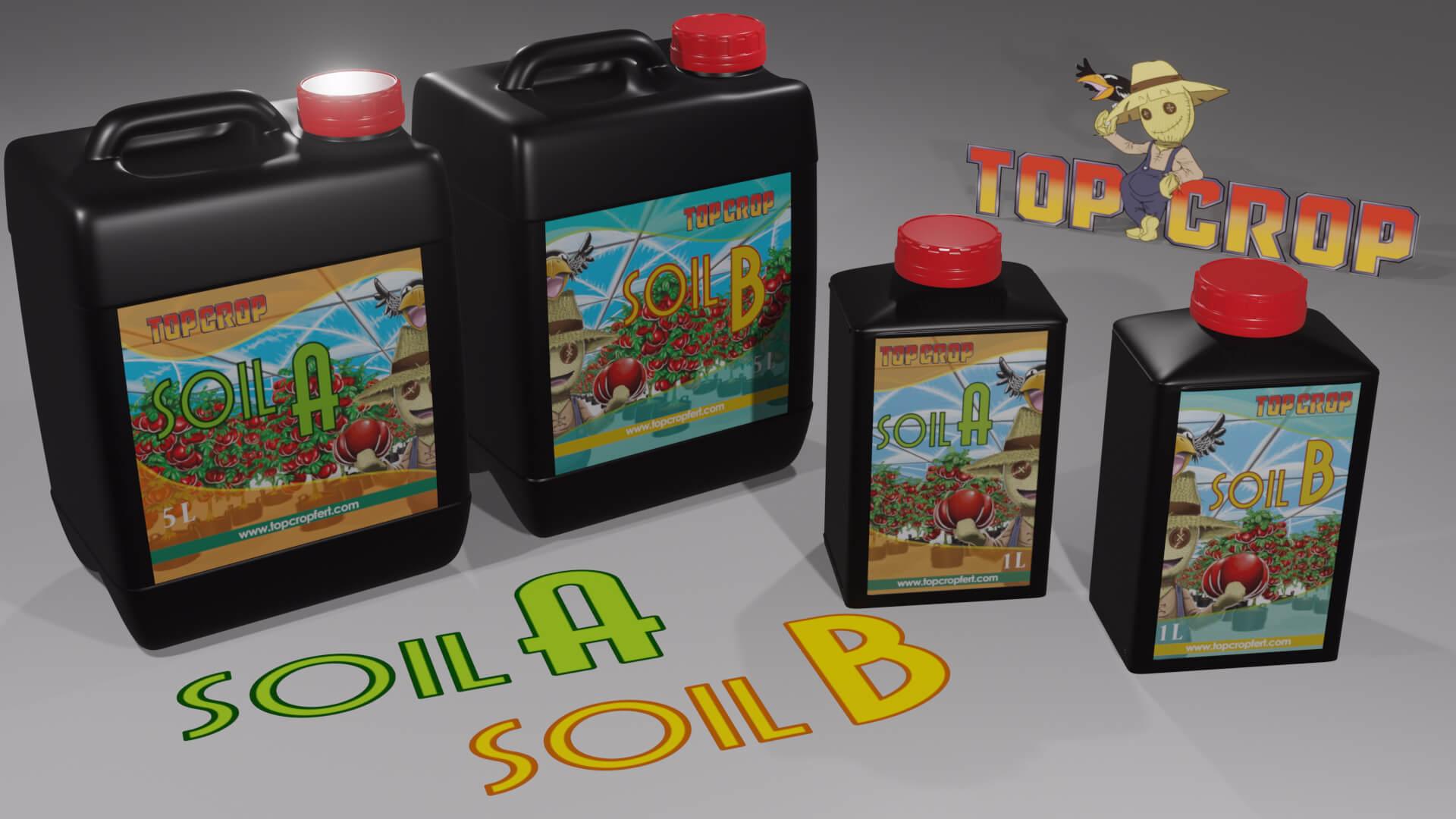 Soil A y B
