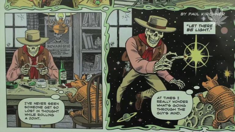 Paul Kirchner marihuana en el cómic